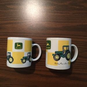 JOHN DEETE TRACTOR COFFEE CUPS